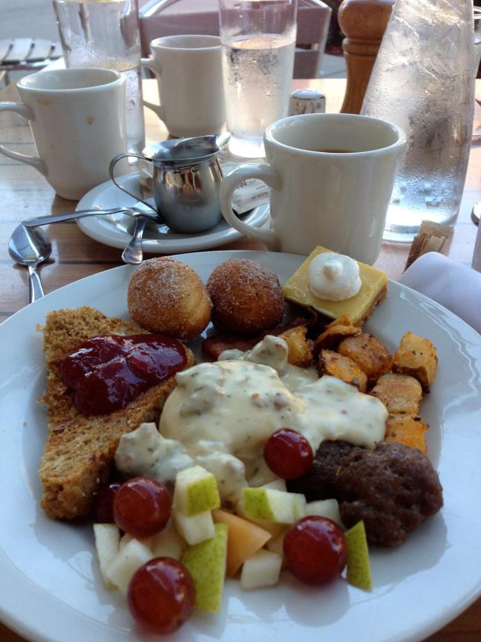 星期天早上的Brunch Buffet, 太美味了